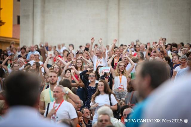 Bei zahlreichen Musikfestivals bringt die European Choral Association Europas Laienmusiker zusammen.