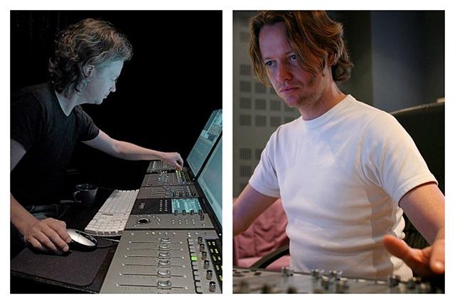 Bild links: Klaus Badelt in seinem Studio in Paris im Jahr 2009. Bild rechts: Klaus Badelt im Jahr 2007 (Bild links: © Mark A. Yaeger /Wikimedia Commons, Bild rechts: © Klaus Badelt (Paris Piste Rouge 1)/Wikimedia Commons