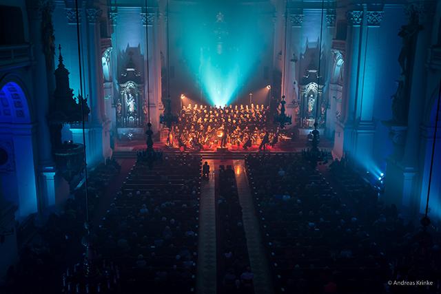 """""""Ein Laienchor schafft einen Ausgleich zum Alltag, und die Möglichkeit, an der gottesdienstlichen Gestaltung oder bei Konzerten mitzuwirken."""", so Christian Bischof."""
