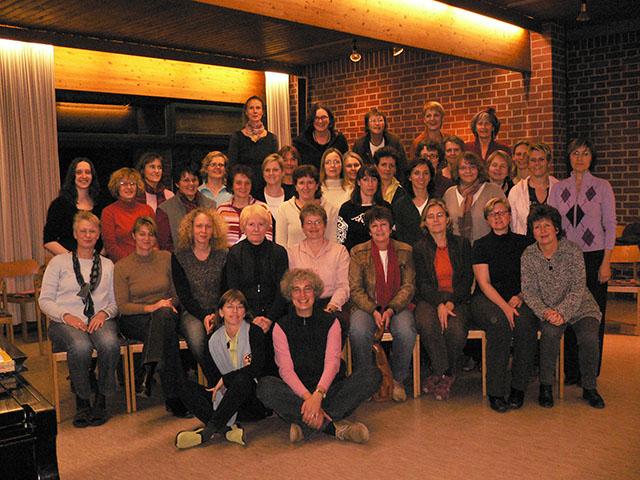 """Frauen-Power: Die """"Chori-Feen"""" bei einem Chor-Treffen."""