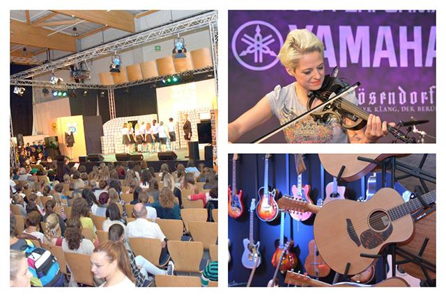 Wie auch auf der letzten Music Austria 2014 wird das Bühnenprogramm 2016 wieder überzeugen. © MESSE RIED GmbH.