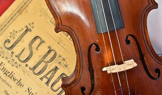 Beim Leipziger Bachwettbewerb werden auch alte Instrumente wie das Barockvioloncello gefördert.
