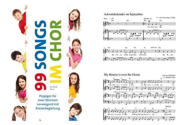 """Bei """"99 Songs"""" ist sicherlich das Passende für jeden Kinderchor dabei."""