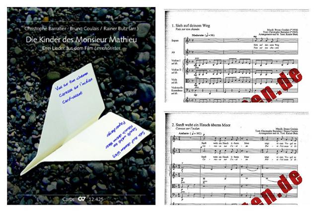 """Perfekt für Kinderstimmen: Die drei schönsten Songs aus """"Die Kinder des Monsieur Mathieu""""."""