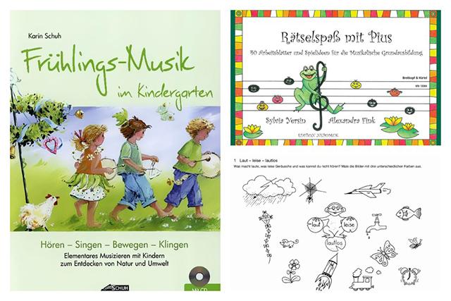 Musikalisch den Frühling begrüßen und Musik-Grundlagen mithilfe von Rätseln erlernen: Die Frühlings-Musik und der Rätselspaß mit Pius machen den Kleinsten viel Spaß.