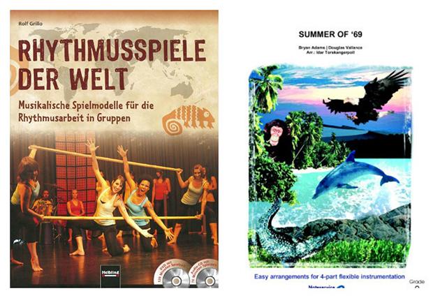 """Spielerisch Rhythmusgefühl erlernen und im Ensemble """"Summer of 69"""" spielen: So macht Musikunterricht Spaß."""