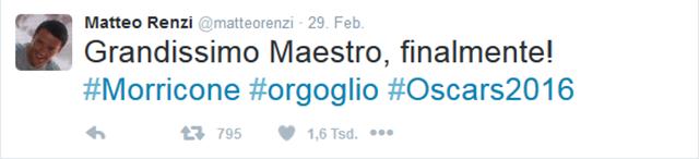 Ganz Italien bejubelt den Komponisten!