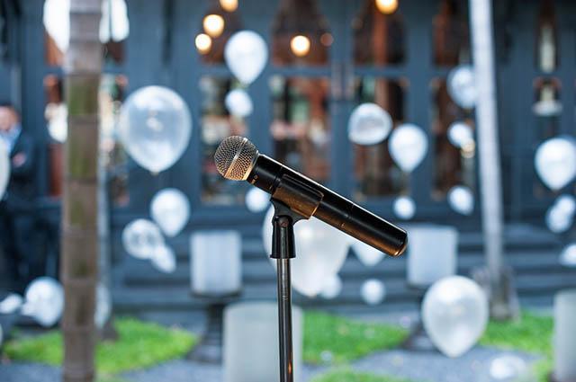Mikrofon Hochzeitsmusik