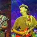Collage mit Carlos Santana