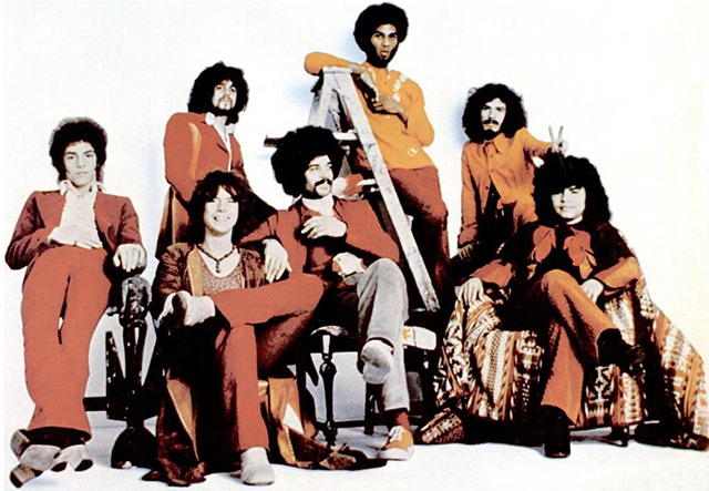 Gruppenbild Band Santana