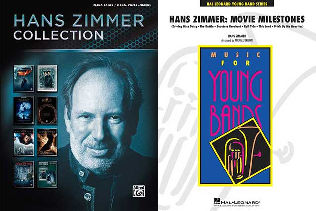 Cover-Collage Hans Zimmer