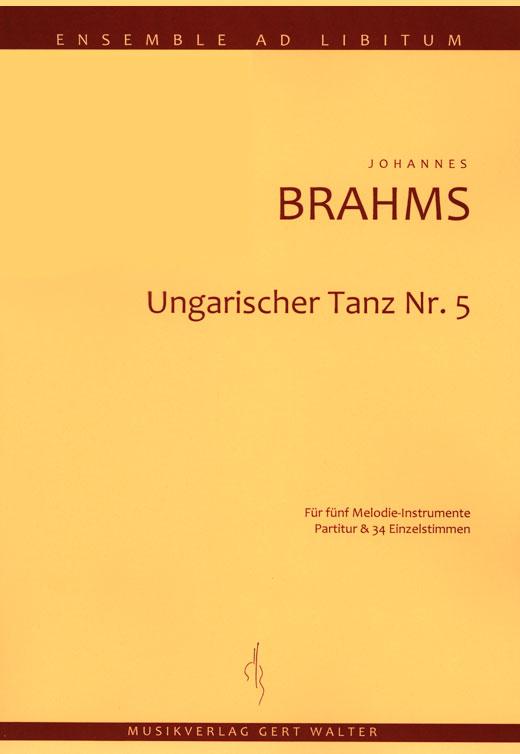 """Cover """"Ungarischer Tanz Nr. 5"""""""