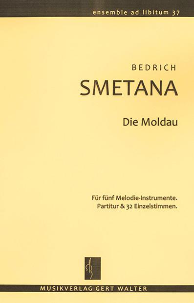 """Cover """"Die Moldau"""""""