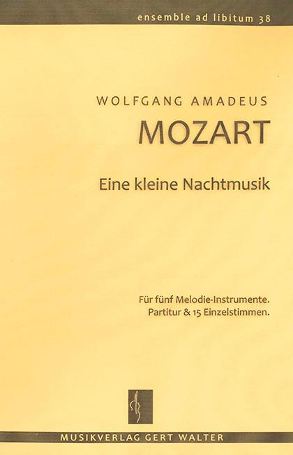 """Cover """"Eine kleine Nachtmusik"""""""