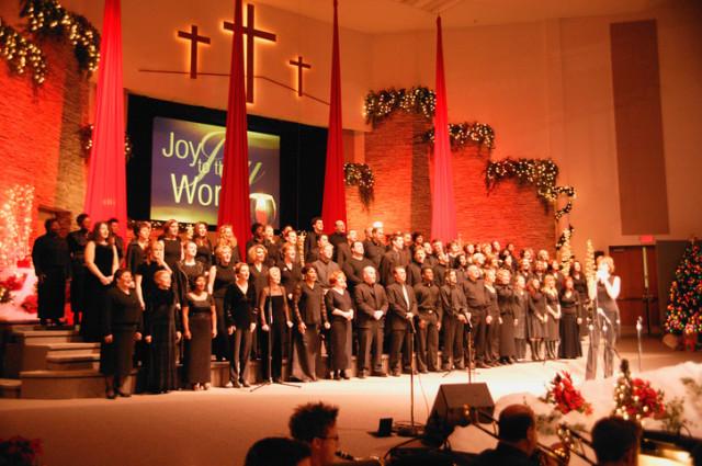 Auftritt eines Kirchenchors