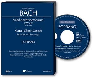 Übehilfen carus plus - Cover Bach Weihnachtsoratorium