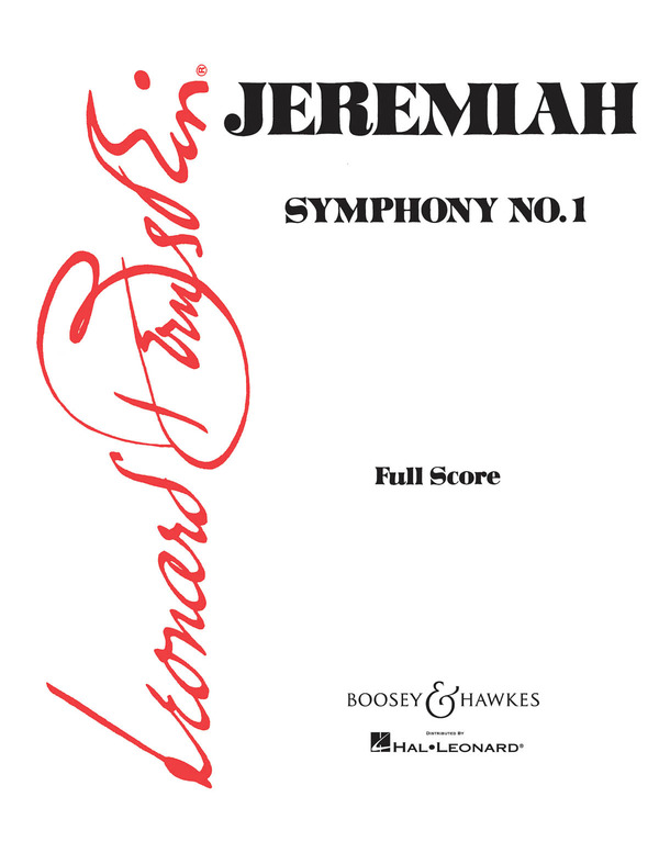 Cover Jeremiah Symphony