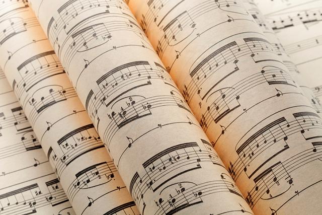 Klaviernoten für Etüden