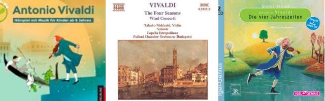 Vivaldi Notenbücher