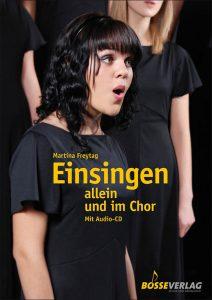 """Buch-Cover von """"Einsingen alleine und im Chor"""""""
