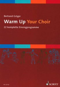 "Buch-Cover ""warm up your choice"""