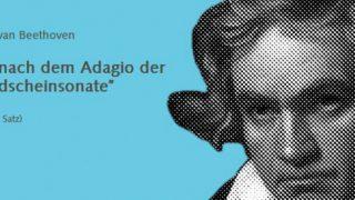 Sakrileg oder Geniestreich? Titelbild mit Beethoven