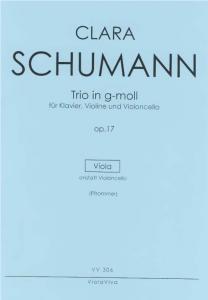 Clara Schumanns Klaviertrio op. 17