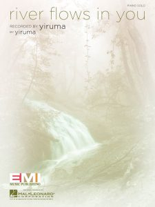 """Buchcover """"river flows in you"""""""