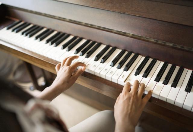 Klaviatur mit Beschriftung