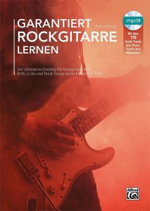 """Gitarrenschule """"Garantiert Rockgitarre lernen"""""""