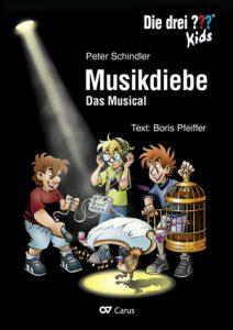 """Buch """"Die drei Fragezeichen - Musikdiebe. Das Musical"""""""
