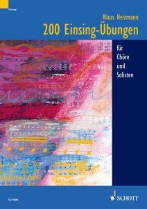 """Buchcover """"200 Einsing-Übungen"""""""