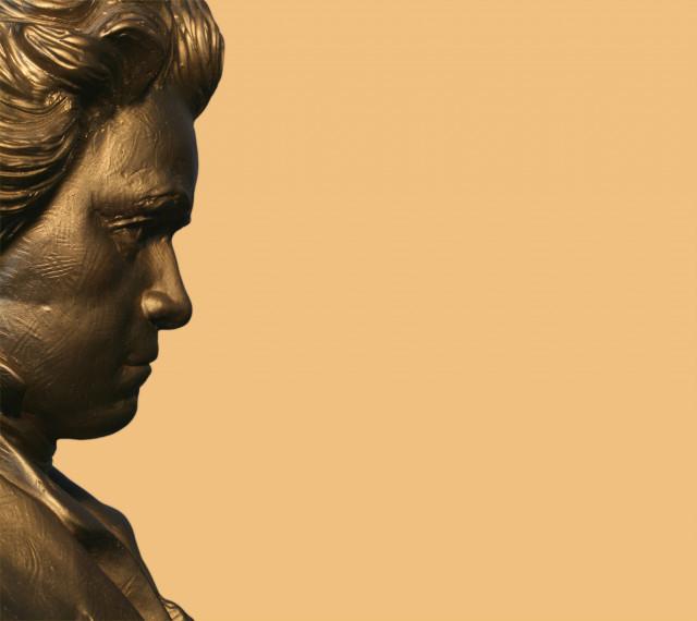 Ludwig van Beethoven im Profil
