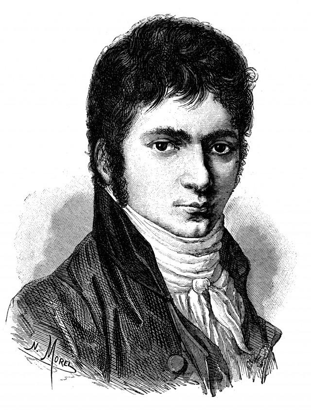Ludwig van Beethoven jung