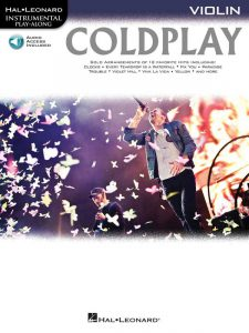 "Buchcover ""Coldplay for Violin"""