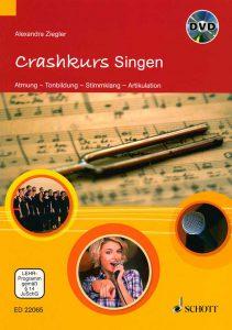 "Buchcover ""Crashkurs Singen"""