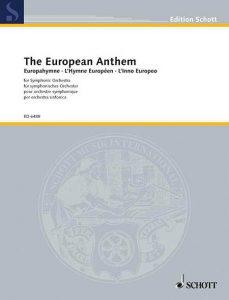 Noten zur Europahymne