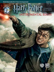 "Cover ""Harry Potter Instrumental Solos For Strings"""