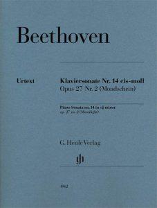 Noten zur Klaviersonate 14 von Beethoven