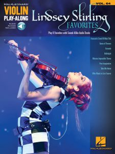 "Buchcover ""Lindsey Stirling Favorites Violin Play Along Vol 64"""