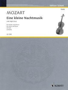 """Buchcover """"Mozart. Eine kleine Nachtmusik"""""""