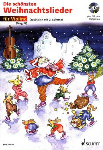 """Buchcover """"Die schönsten Weihnachtslieder"""""""