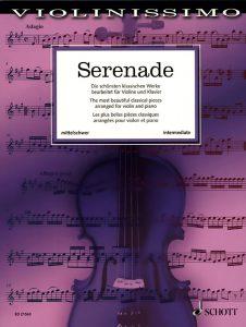 """Buchcover """"Serenada"""""""