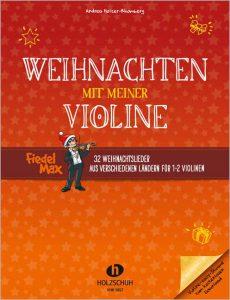 """Buchcover """"Weihnachten mit meiner Violine"""""""