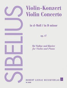 Violin-Konzert d-Moll op. 47Standard