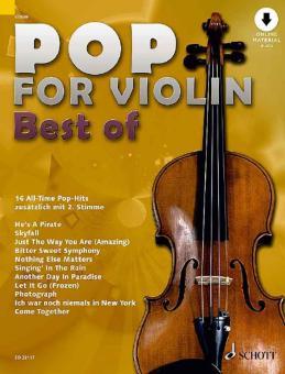 Pop for Violin - Best of