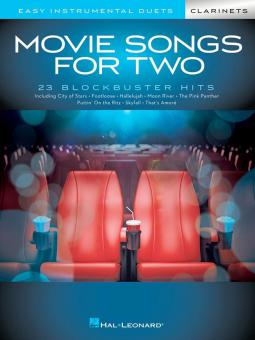 Movie Songs for 2 Clarinets