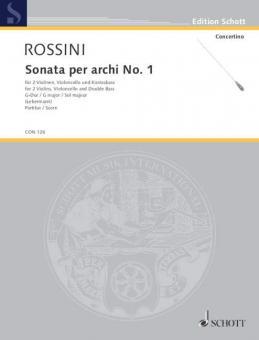 Sonata per archi Nr. 1 G-DurDownload