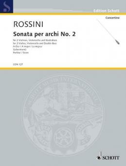 Sonata per archi Nr. 2 A-DurDownload