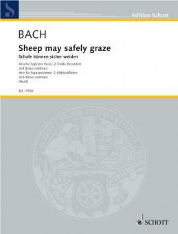 Schafe können sicher weiden BWV 208Download